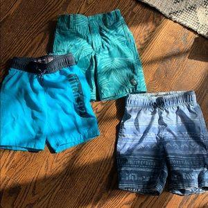 Bundle Abercrombie kids swim shorts